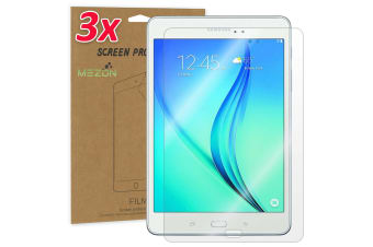 "[3 Pack] Samsung Galaxy Tab A 9.7"" Ultra Clear Film Screen Protector by MEZON (SM-T550, T555, Clear)"