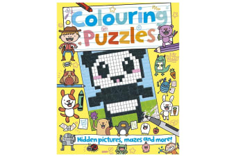 Colouring Puzzles - Hidden Pictures, Mazes, And More!
