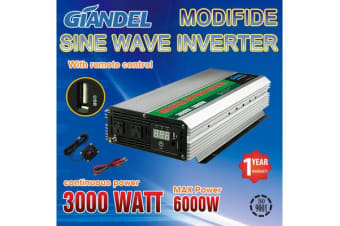 3000W Modified Inverter with Overload Protection