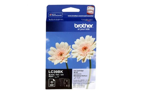 Brother LC-39 Black Ink suits J125/J315W/J415W