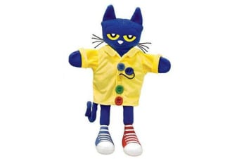 Pete the Cat and His Four Groovy Buttons Puppet - 14.5""