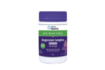 Henry Blooms Magnesium Complex Ultra Strength Powder 200g