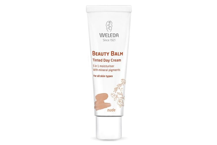 Weleda Beauty Balm Tinted Day Cream (5in1 moisturiser with mineral pigments) Nude 30ml