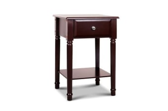 Artiss Bedside Tables Storage Cabinet Chest of Drawer Lamp Nightstand Side Table