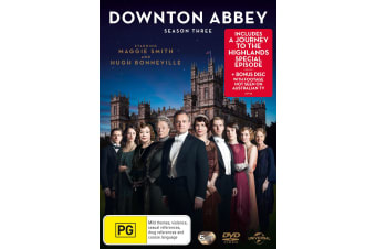 Downton Abbey Series 3 Box Set DVD Region 4