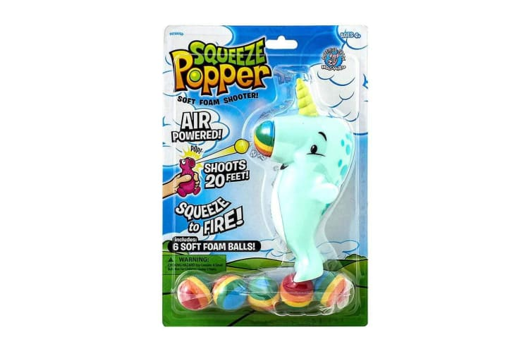 Squeeze Popper Narwhal