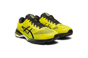 ASICS Men's Gel-Kayano 26 Running Shoe (Sour Yuzu/Black)