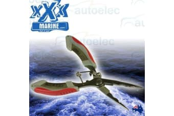 XXX MARINE STAINLESS LONG NOSE PLIERS HOOK REMOVAL BOAT TACKLE FISHING NEW FT2