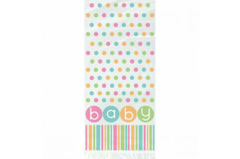 Unique Party Baby Shower/Birthday Gift Bags (Pack of 20) (Multicoloured) (One Size)