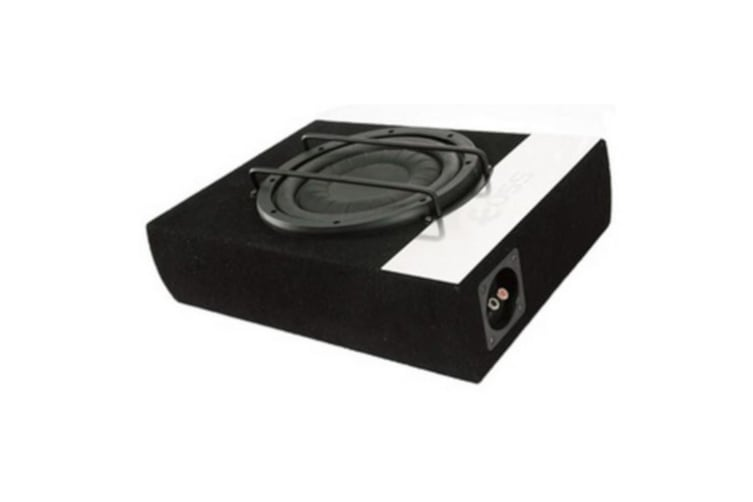10 inch Active subwoofer 250W Suitable mounting between seats RMS Power 120w  Max Power 250W