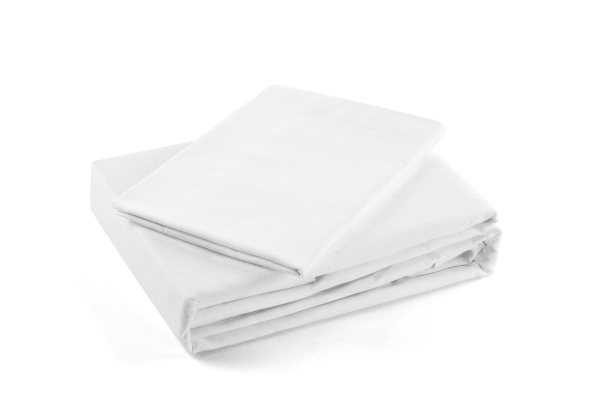 Trafalgar 1500TC Cotton Rich Luxury Quilt Cover Set (King, White)