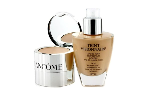 Lancome Teint Visionnaire Skin Perfecting Make Up Duo SPF 20 - # 005 Beige Ivoire (2pcs)