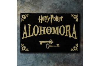 Official Harry Potter Alohomora Key Door Mat