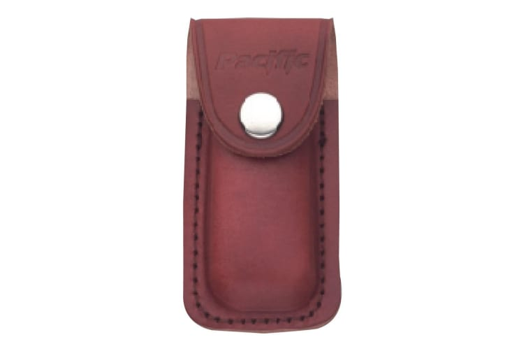 Pacific Cutlery Sheath - Leather Brown Small - 7.5cm L x 4.5cm W