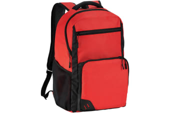 Bullet Rush 15.6in PVC Free Computer Backpack (Red) (30.5 x 13 x 45 cm)