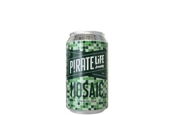 Pirate Life Brewing Mosaic IPA 355mL Case of 16