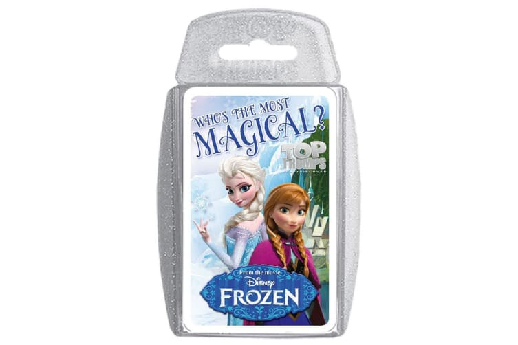 Top Trumps Disney Frozen Magical Educational Card Game 6y+ Family/Kids/Adult Toy