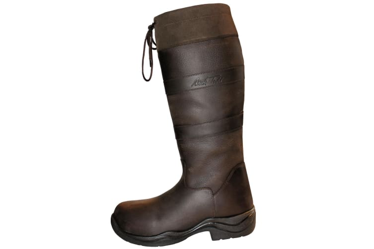 Mark Todd Adults Leather Wide Mark II Country Boots (Brown) (9 UK)