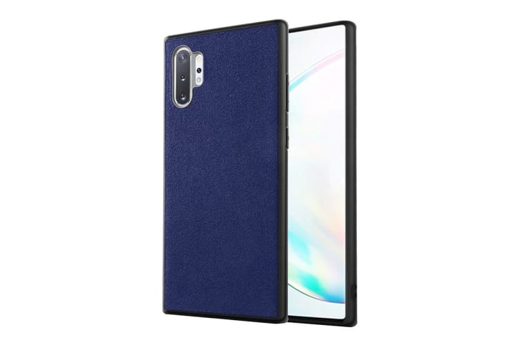 Samsung Galaxy Note10 Plus Alcantara Case (Navy)