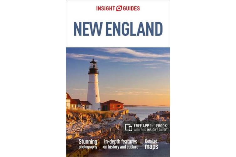 Insight Guides New England (Travel Guide with Free eBook)