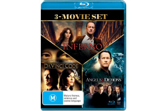 The Da Vinci Code / Angels and Demons / Inferno Blu-ray Region B