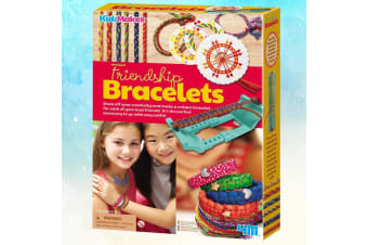 Friendship Bracelets Kit | Create Unique Colourful Designs For Ur BFFs!