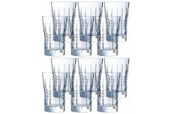 12PK Cristal D'Arques Rendez-Vous 360ml Highball Hiball Glasses Bar Tableware