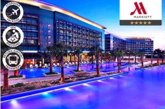 ABU DHABI: 1 Night Stopover Accommodation Package for Two