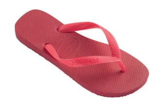 Havaianas Top Thongs (Neon Pink, Brazil 35/36)-OLD