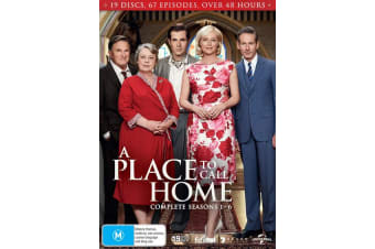 A Place to Call Home Complete Series 1 to Six Box Set DVD Region 4