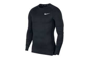 Nike Men's Pro Core Tight Tees (Black)