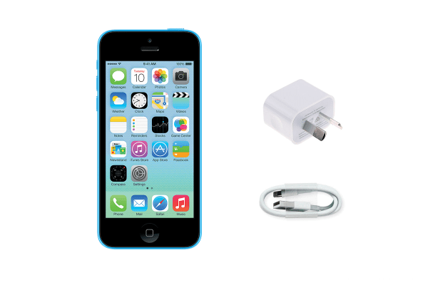 Apple iPhone 5c Refurbished (16GB, Blue) - AB Grade