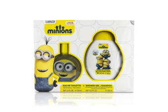 Air Val International Minions Coffret: EDT Spray 100ml/3.4oz + Shower Gel & Shampoo 300ml/10.2oz 2pcs