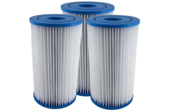 3 X Intex Type A / Krystal Clear Cartridge Filter Element