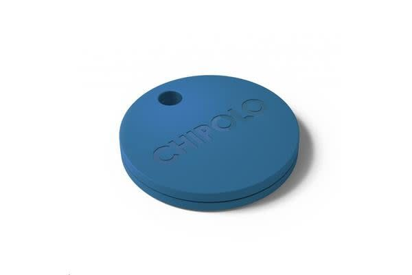 Chipolo Plus Smart Keyring Bluetooth Tracker, Ocean Blue