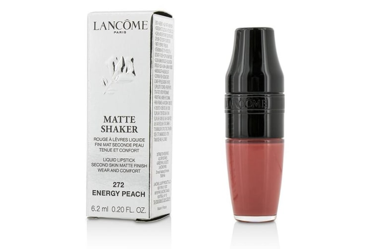 Lancome Matte Shaker Liquid Lipstick - # 272 Energy Peach 6.2ml