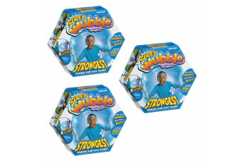 3PK Super Wubble Bubble Ball - Blue
