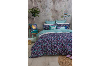 Bambury Evelyn Quilt Cover Set - 100% Cotton - Double