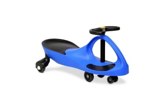 Pedal Free Swing Car 79cm (Blue)