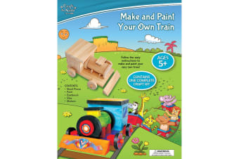 Make And Paint Your Own Train