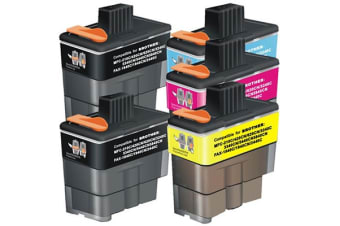 LC47 Compatible Inkjet Cartridge Set with Extra Black
