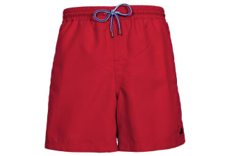 Trespass Mens Granvin Casual Shorts (Red) (M)