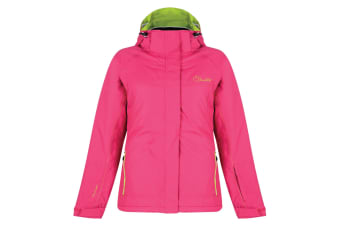 Dare 2B Womens/Ladies Energize Waterproof Ski Jacket (Electric Pink)
