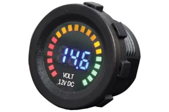 Panel Mount Volt Meter With Graph