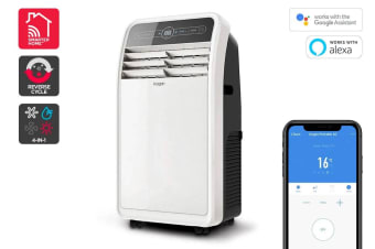 Kogan SmarterHome™ 4.1kW Portable Smart Heater & Air Conditioner (14,000 BTU, Reverse Cycle)