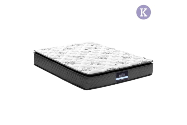 Giselle Bedding Euro Pillow Top Mattress (King)