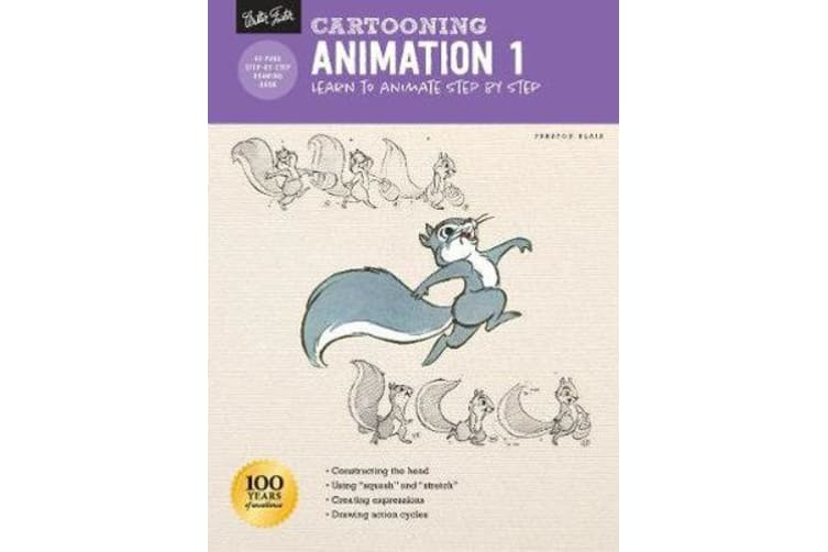 Cartooning: Animation 1 with Preston Blair - Learn to animate step by step
