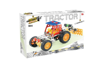 Construct It Tractor Set with 132 Pieces