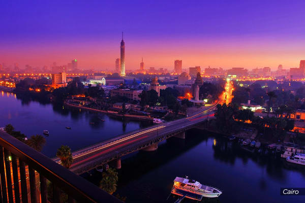 EGYPT: 10 Day Ancient Egypt Nile Cruise Including Flights for Two