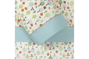 Skip Hop Treetop 3pc Cot Sheet